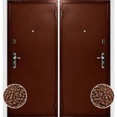 """Дверь стальная порошковая покраска """"Шагрень"""", металл с 2-х сторон"""