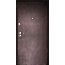 """Дверь стальная  """"ЭКОкожа"""" с 2-х сторон"""