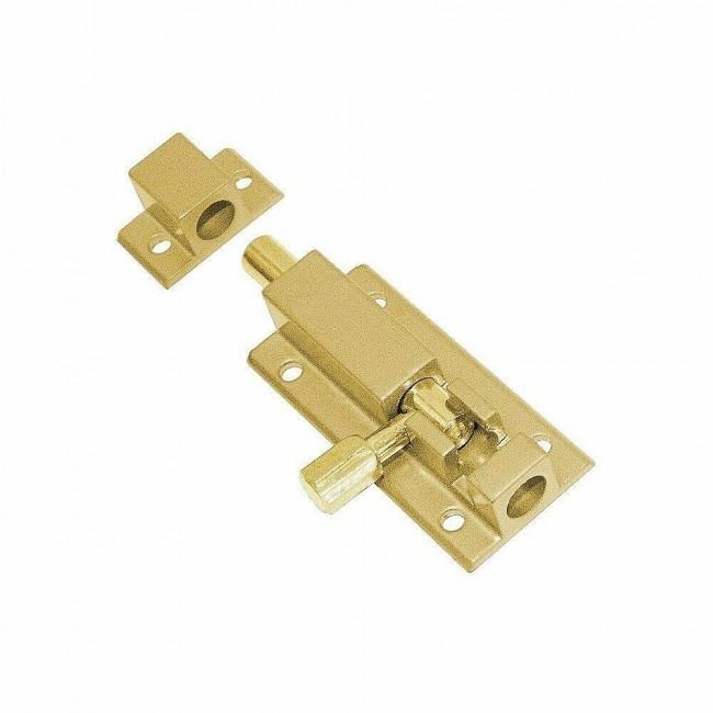 Шпингалет 501 PB Золото