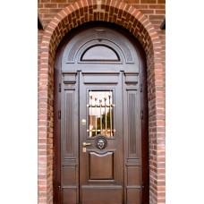 Дверь стальная Арочная порошковая покраска