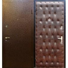 """Дверь стальная порошковая покраска  + """"ЭКОкожа"""""""
