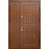 Дверь стальная Двустворчатая с отделкой МДФ