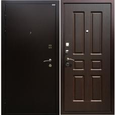 Дверь стальная порошковая покраска  + МДФ
