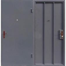 """Дверь стальная однолистовая """"Скелет"""", обычная покраска"""